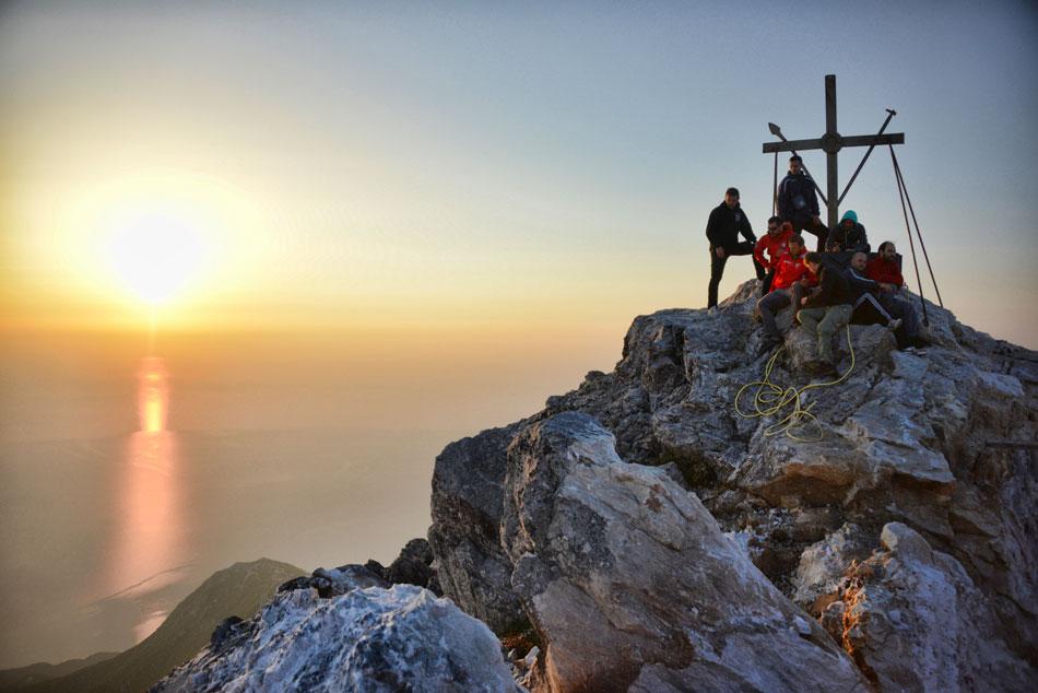 Восхождение на гору Афон